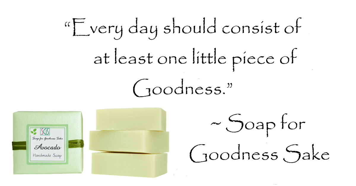 Soap for Goodness Sake Handcrafted Organic Soap