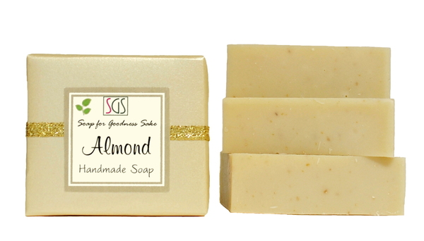Organic Almond Soap by Soap for Goodness Sake