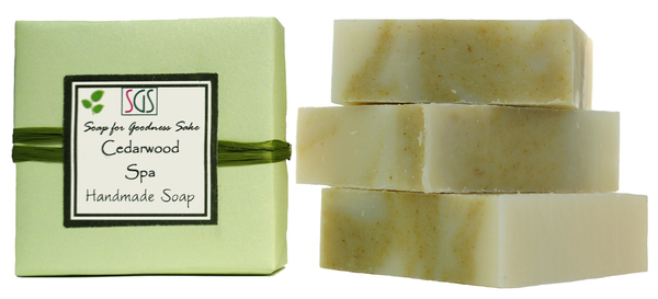 Cedarwood Soap Handmade Organic Soap