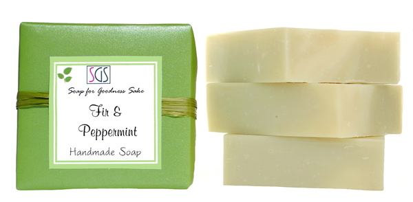 Organic Fir and Peppermint Soap