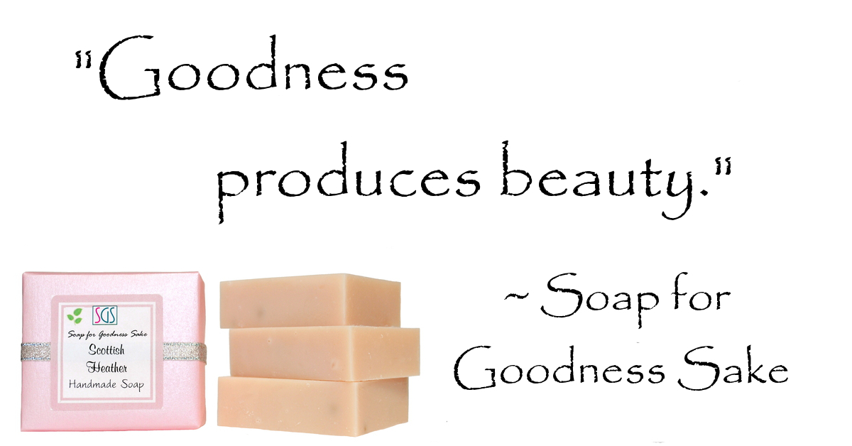 Organic Facial Soap by Soap for Goodness Sake