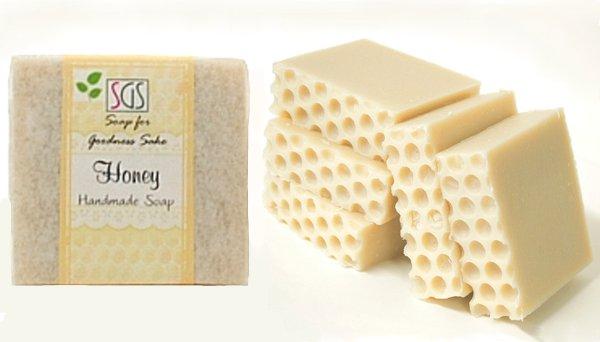 Organic Honey Soap by Soap for Goodness Sake