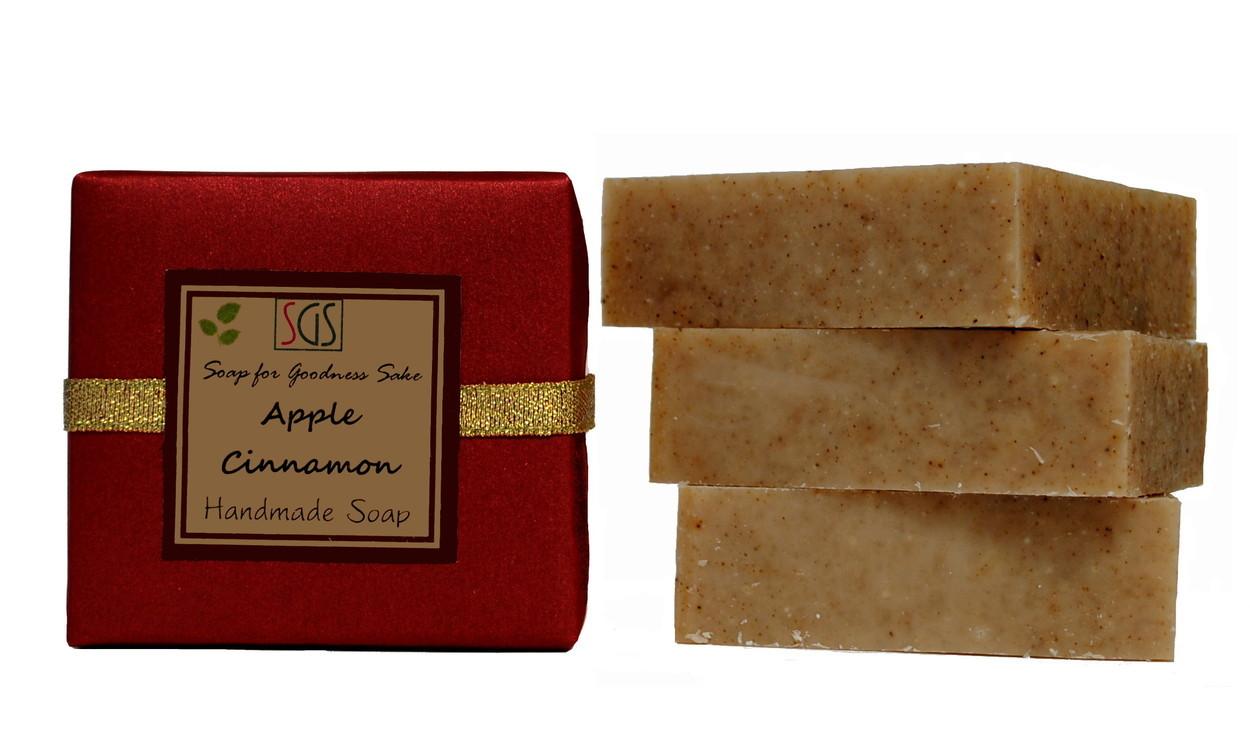 Apple Cinnamon - Handmade Organic Soap