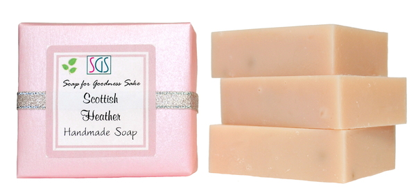 Scottish Heather Soap - Handmade Organic Soap