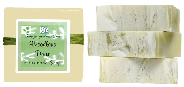 Woodland Dawn Soap by Soap for Goodness Sake